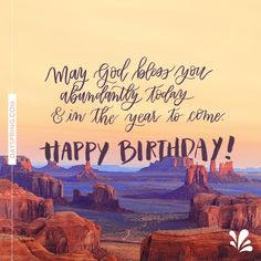 Abundant Birthday - :)