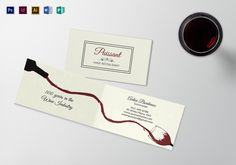 Vintage business card template business cards card templates and folded business card template formats included illustrator indesign ms word photoshop publisher file size 35x2 inchs product details 18 reheart Images