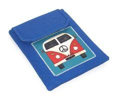 Kindle Case VW Camper Van Denim Blue £14.00 from Whimsy Woo Designs