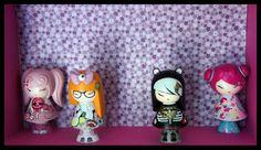 Jusqu'au 04/04 !!! 1 Lot 100 % Kawaii : 4 figurines KIMMIDOLL LOVE !!!
