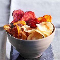 Chips aux trois légumesEt si vous faisiez des chips maison ?