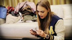 What's in Cara Delevingne's Handbag? Didn't know where to pin it so... :p
