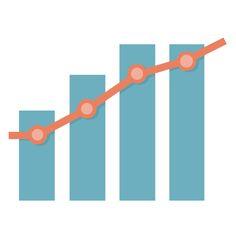 折れ線と棒グラフ Bar graph and Liner graph