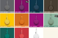 beautiful colors for beautiful products http://www.urbanears.com/
