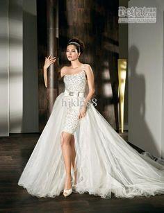 2012 New Sexy One Shoulder wedding dress