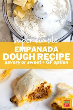 Homemade empanada dough is easy to make and makes the best empanadas! I'll show you how to make an Easy Empanada Dough Recipe you can use with any filling, that's flaky, buttery, and so delicious. via @thesundaysupper Empanadas Recipe Dough, Empanada Dough, Dough Recipe, Best Brunch Recipes, Healthy Recipes, Beef Appetizers, A Food, Good Food, True Food
