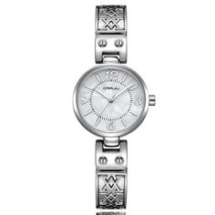 0d7a528b30f A great timepiece from Crrju with a durable Stainless Steel Strap. This  Casual Womens Fashion