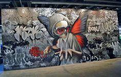 Street art by Mataone. Brno Czech Republic
