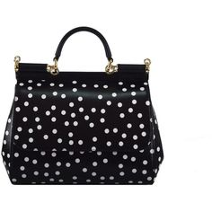 Polka Dot Tote (15.285 ARS) ❤ liked on Polyvore featuring bags, handbags, tote bags, womenbags, handbags totes, snap closure purse, handbags tote bags, top handle handbags and tote bag purse