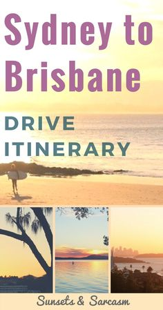 Plan your amazing east coast australia road trip with this useful sydney to brisbane drive itinerary. discover the best places to see in new south wales and Australia Travel Guide, Visit Australia, Queensland Australia, Roadtrip Australia, Brisbane Queensland, South Australia, Australia Visa, Victoria Australia, Cairns
