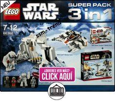 LEGO 66366 Star Wars - Paquete especial 3 en 1 (juegos 8089, 8083 y 7749)  ✿ Lego - el surtido más amplio ✿ ▬► Ver oferta: https://comprar.io/goto/B00472PXUY