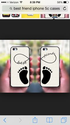 Love this case so cute Bff Iphone Cases, Bff Cases, Ipod 4 Cases, Iphone 4s, Cute Phone Cases, Best Friend Cases, Friends Phone Case, Cool Cases, Blackberry Q10