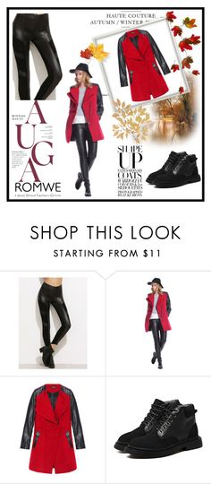 """""""1/16 romwe"""" by fatimka-becirovic ❤ liked on Polyvore"""
