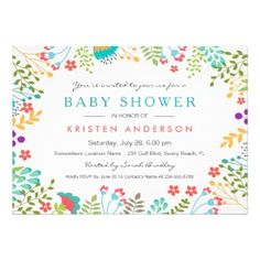 66 best baby shower invitations images on pinterest in 2018 baby shop graceful tiffany blue floral cute baby shower invitation created by cardhunter filmwisefo