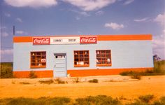 "William Christenberry, ""Cannon's Grocery, near Greensboro, Ala.,"" 1972. (Courtesy Pace/MacGill Gallery, New York)"