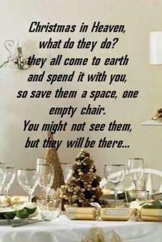 #Christmas in Heaven