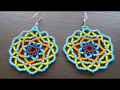 How To Make Colourful Summery Earrings - DIY Style Tutorial - Guidecentral. Guidecentral is a fun and visual way to discover DIY ideas learn new skills, meet amazing people who share your passions and even upload your own DIY guides. We provide a space Seed Bead Jewelry, Bead Jewellery, Seed Bead Earrings, Beaded Earrings, Seed Beads, Crochet Earrings, Hoop Earrings, Beaded Bracelets, Leather Earrings