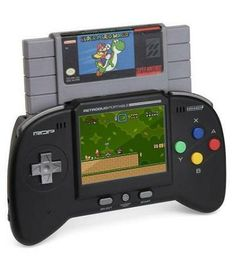 The Retro Portable NES/ SNES System.