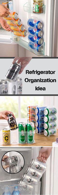 US$5.99 Cans Storage Box Refrigerator Organizer Sauce Bottle Container Four Case Organization