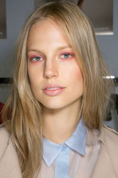 How to wear pink eyeshadow and make-up | Harper's Bazaar