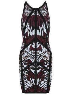 Multi Sexy Dress - Bqueen Miranda Kerr In Printed