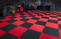Race Deck Garage Floor Tiles - Corvette Forum … | Floors |…