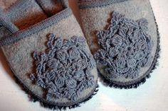 Crochet mending - adorable