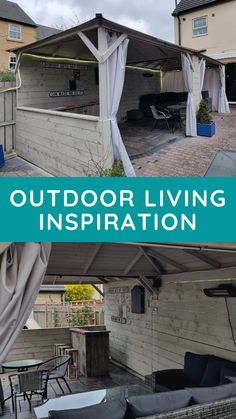Create an outdoor living area for socialising or relaxing in your garden under the shelter of a Gazebo.
