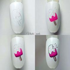Make Me Up, How To Make, Nail Tutorials, Love Nails, Nail Tips, Pop Art, Nail Art, Piercing, Diana