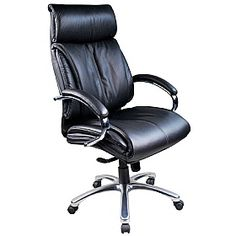 Loughborough Leather Faced Manager Chairs