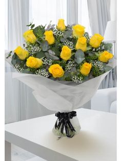 Flower Delivery Ireland and Dublin from Flowers.ie has the largest branch network of florists in Ireland. Send flowers with Flowers. Send Flowers, Flower Delivery, Yellow Roses, Cork, Ireland, Planter Pots, Irish, Corks