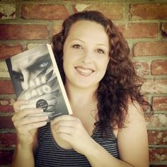 ANGEL EYES by Shannon Dittemore REVIEWED - This is the author holding the final book in this series called Hallo http://psalm516.blogspot.com/2014/07/angel-eyes-by-shannon-dittemore-reviewed.html