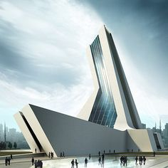 Disaster Prevention and Education Centre in Istanbul, Turkey - a concept by Stanislavov Architects (STARH)