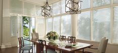 """Window blinds (vertical or horizontal in orientation) are wonderful at deflecting the sun and therefore the amount of heat entering your home. The U.S. Department of Energy estimates that in a """"sunny window, highly reflective blinds can reduce heat gain by around 45%."""""""