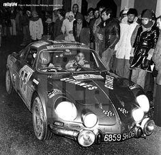 Michele Mouton, 1974 Tour De Corse - Alpine A110 1800 (12th)
