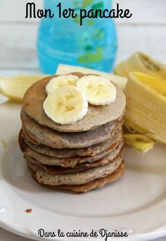My first pancake from months Baby Food Recipes, Cooking Recipes, Baby Co, Baby Led Weaning, Food Videos, Kids Meals, Breastfeeding, Pancakes, Yummy Food