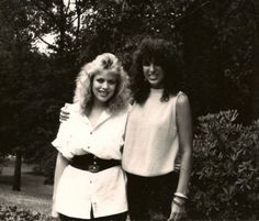 """Hello 1980's... what do you mean """"hair""""??  We have some pretty decent Jon Bon Jovi hair workin here.  Not sure what year of course but I do know I was working in the salon at night after Allstate... cause that's a spiral perm I'm sporting..cost about 100 bucks back then.. but since I worked at the Salon I just paid for the perm solution and got it done for free!  Had my hair like that for about 5 years. Super skinny too about 118.. I'm 15 lbs heavier now."""