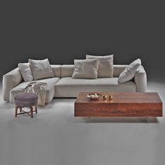 Flexform sofa Lario by Antonio Citterio