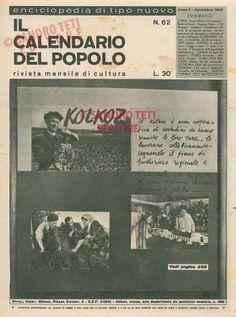 Il Calendario del Popolo n° 62, 1949