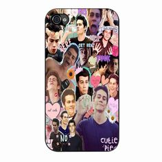 Teen Wolf Dylan O Brien Collage iPhone 4/4s Case #NEED