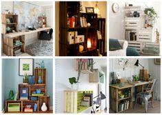 Sencillas y hermosas formas de construir tu propio librero sin gastar demás pero al mismo tiempo dándole un toque de modernidad a tu casa.
