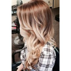 Bohemian Blonde Ombre Hair, Ash Golden Blonde Ombre Hair, Light Blonde... (335 NZD) ❤ liked on Polyvore