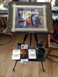 Iain Stewart Watercolors: My Plein Air Kit..what you need and what to leave behind. Traveling light.