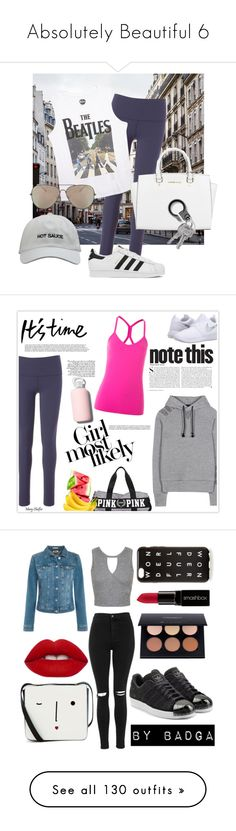 """""""Absolutely Beautiful 6"""" by nmiller526 ❤ liked on Polyvore featuring Beyond Yoga, Wet Seal, adidas, Michael Kors, Orlebar Brown, NIKE, Y-3, Kershaw, bkr and Lorna Jane"""