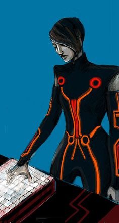 If you like Tron Uprising and is sad to see it end, consider signing this petition for a second season. Description from deviantart.com. I searched for this on bing.com/images