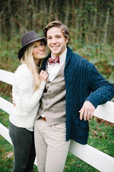 Ralph Lauren Engagement Shoot via Engaged & Inspired