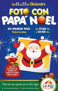 Cliente: La Paz Paraná Shopping Trabajo: diseño de cartelera de columna