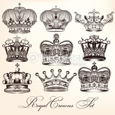 kings crown vs queens crown - Google Search