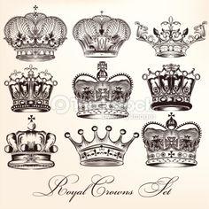 kings crown vs queens crown - Google Search