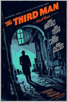 The Third Man (1949) Joseph Cotten,  Orson Welles
